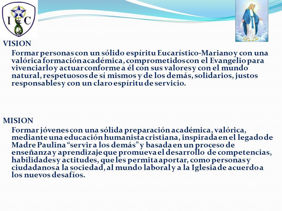 1.PROPUESTA EDUCATIVA DEL LICEO INMACULADA CONCEPCIÓN.