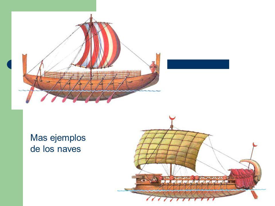 Mas ejemplos de los naves