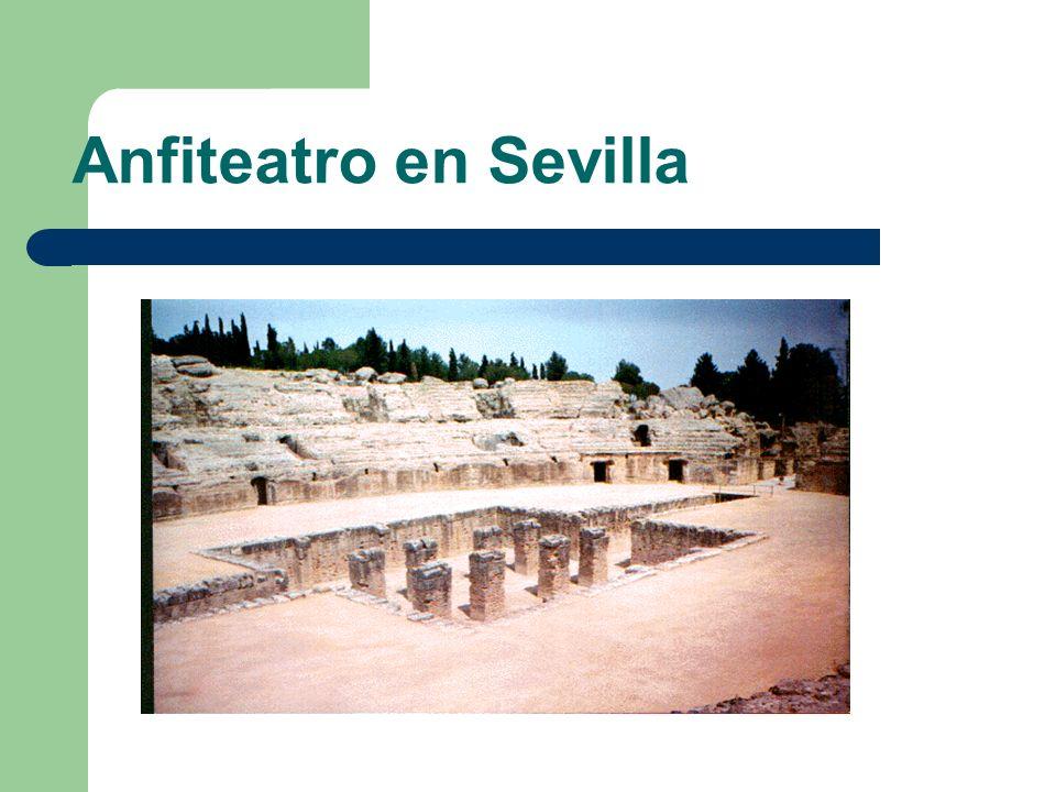 Anfiteatro en Sevilla