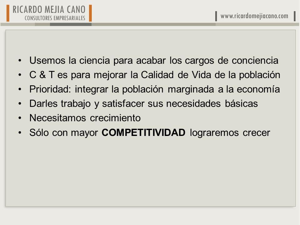 La comunidad académica esta muy preocupada por la falta de PhDs en Colombia, que es importante.