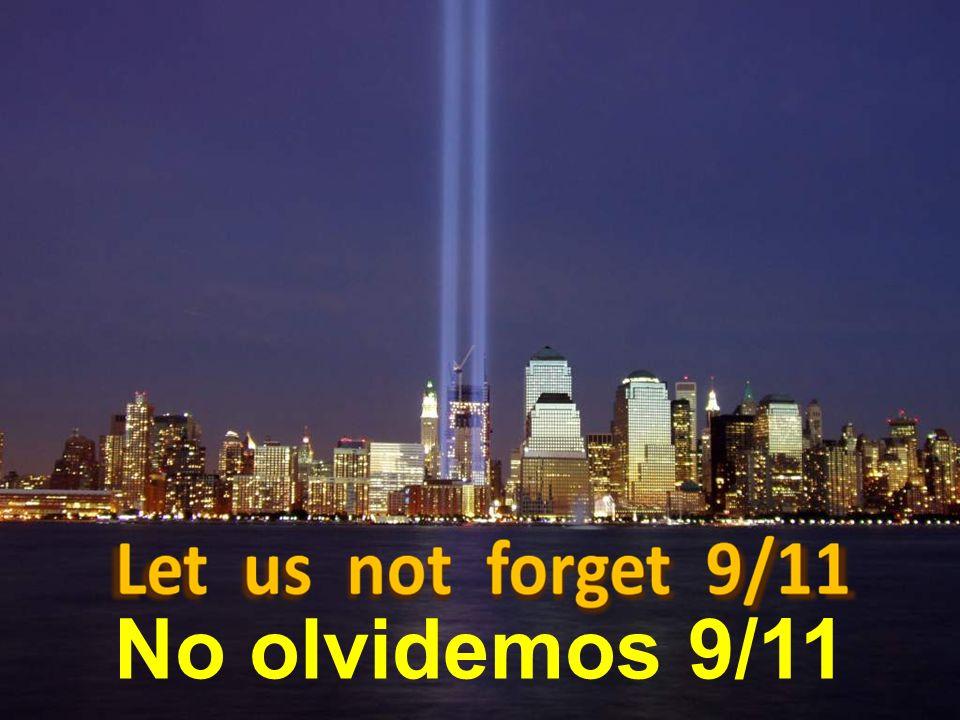 Pero, el 11 de septiembre de 2001, (9/11) para los americanos, islamistas radicales estrellaron dos aviones contra las torres.