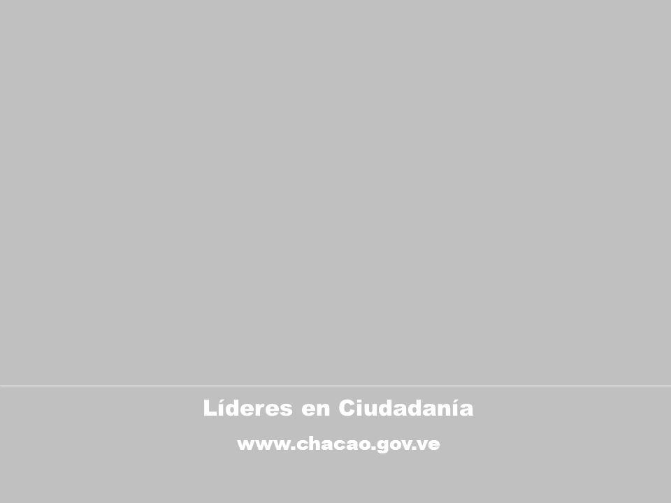 Líderes en Ciudadanía www.chacao.gov.ve
