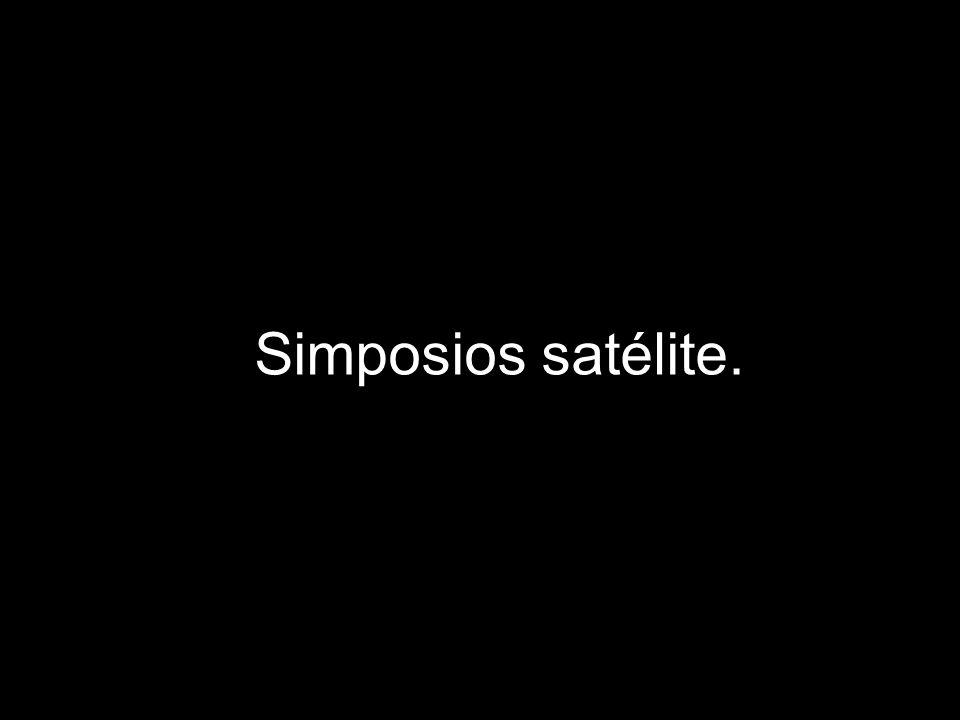 Simposios satélite.