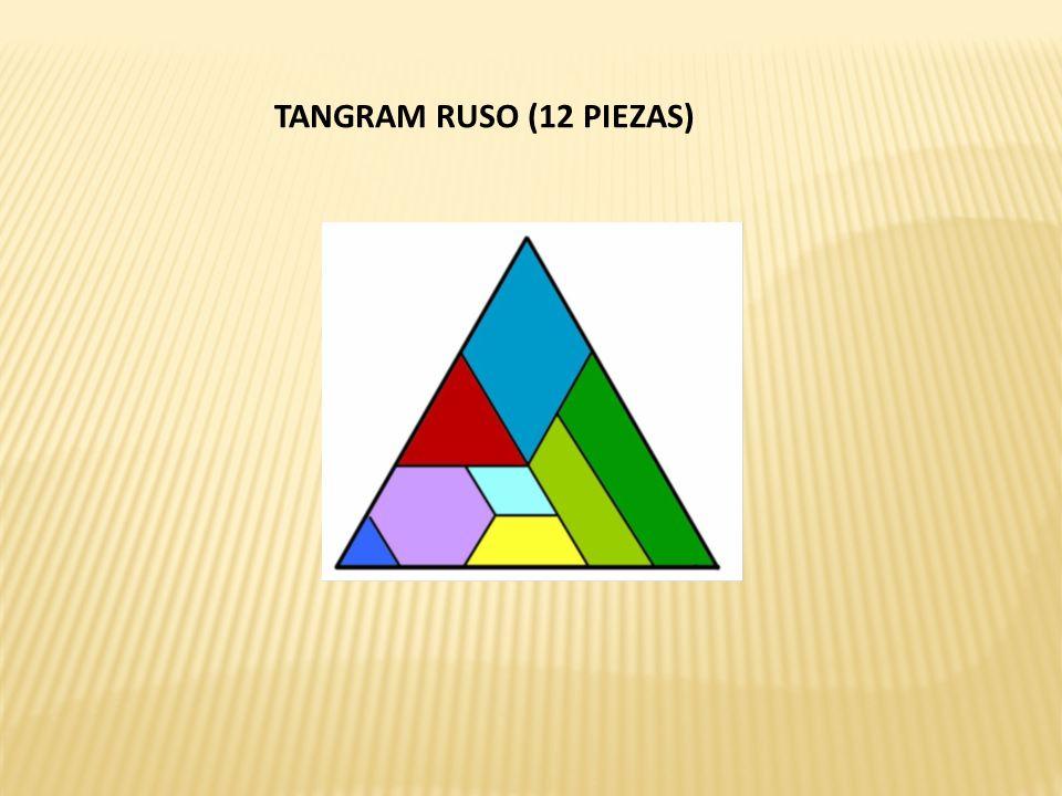 TANGRAM RUSO (12 PIEZAS)