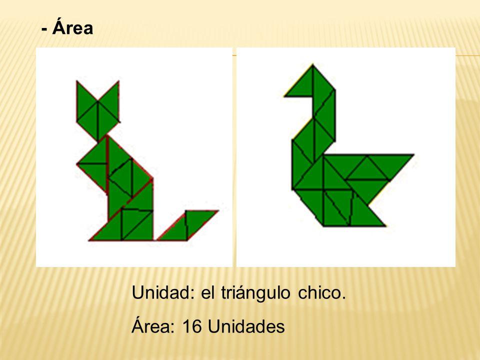 Hay varias maneras de hacer un cuadrado con dos, tres o cuatro piezas.