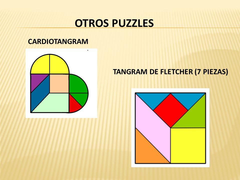 OTROS PUZZLES TANGRAM DE FLETCHER (7 PIEZAS) CARDIOTANGRAM