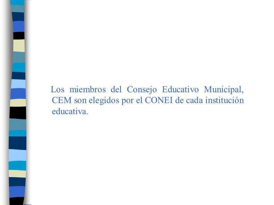 Cómo sabemos, desde que entró en vigencia la Ley General de Educación Nº 28044, en cada escuela está funcionando un Consejo Educativo Institucional, CONEI, presidido por el Director y compuesto por representantes de los diferentes miembros de la comunidad educativa.
