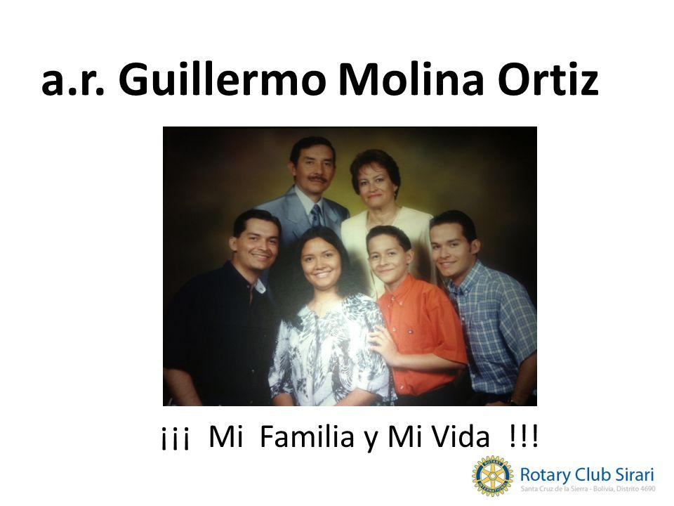 a.r. Guillermo Molina Ortiz ¡¡¡ Mi Familia y Mi Vida !!!