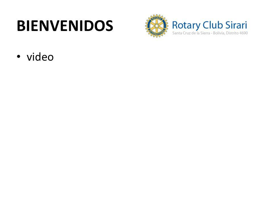 BIENVENIDOS video