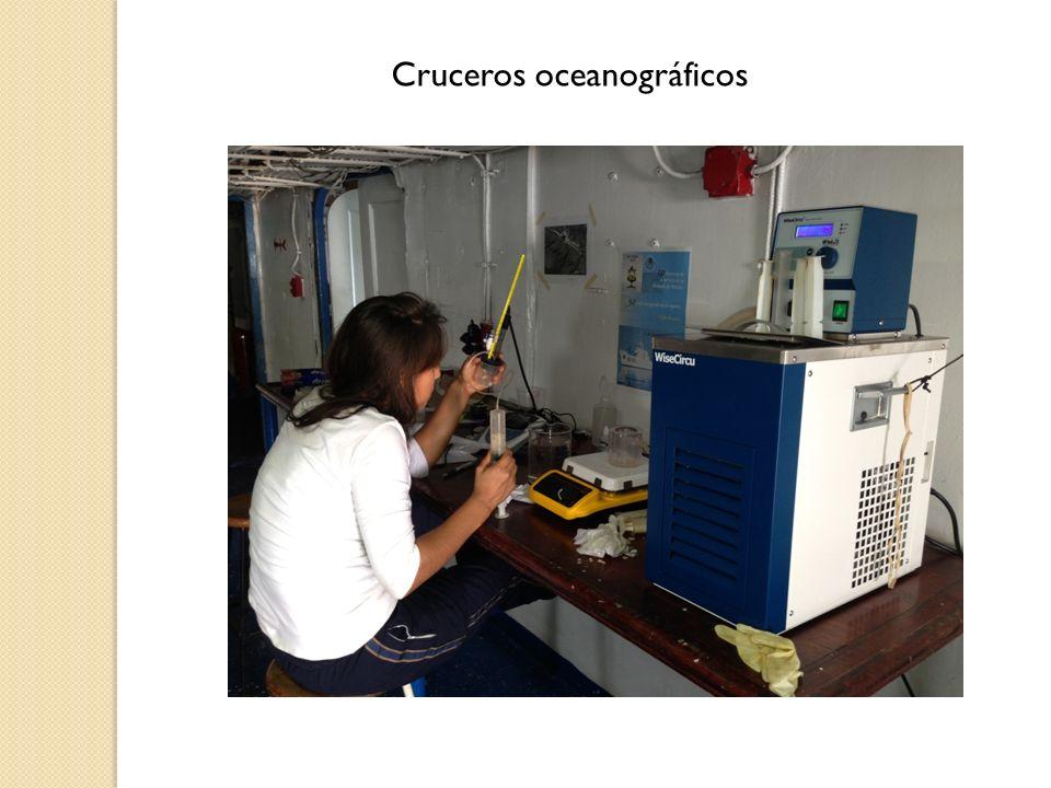 Cruceros oceanográficos