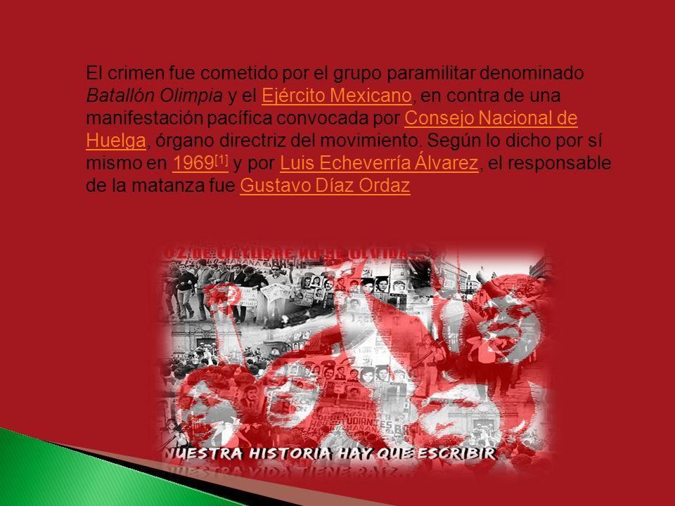 El movimiento estudiantil de 1968 fue un movimiento social en el que además de estudiantes de la UNAM y del IPN, participaron profesores, intelectuale