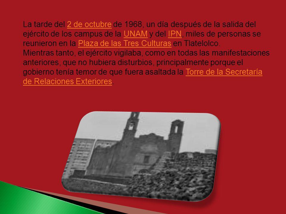 El crimen fue cometido por el grupo paramilitar denominado Batallón Olimpia y el Ejército Mexicano, en contra de una manifestación pacífica convocada