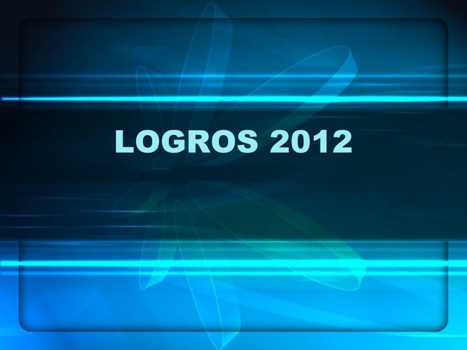 LOGROS 2012