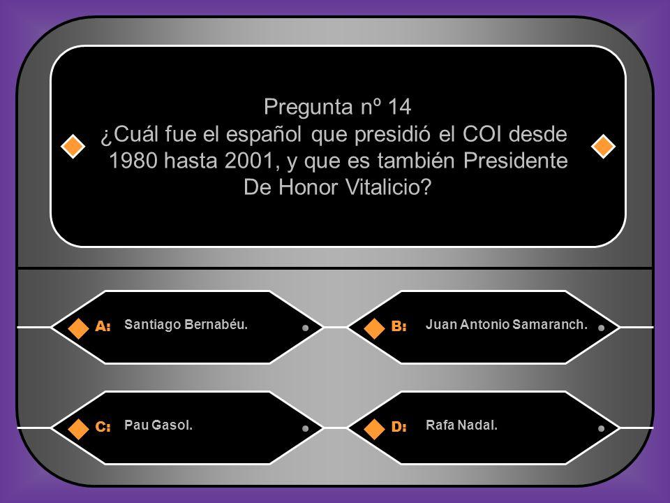 A:B: Santiago Bernabéu.Juan Antonio Samaranch.