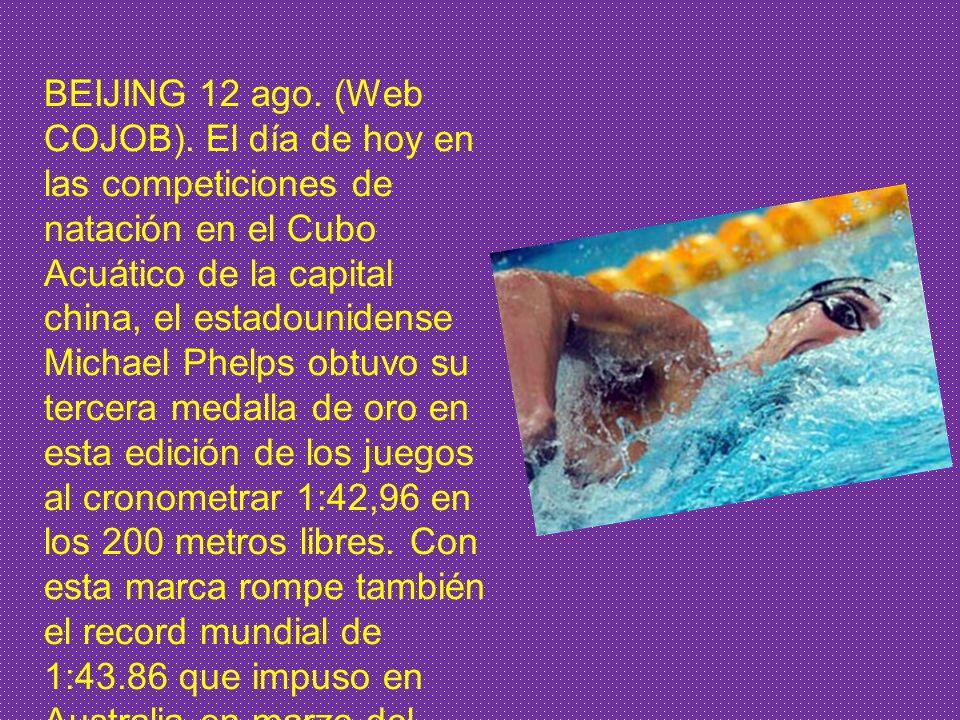 Olimpiadas del 2008 Se alzó el telón de las Olimpiadas de Pekín - los Juegos Olímpicos de Beijing se inauguró a las 8 de la noche en el Estadio Nacion