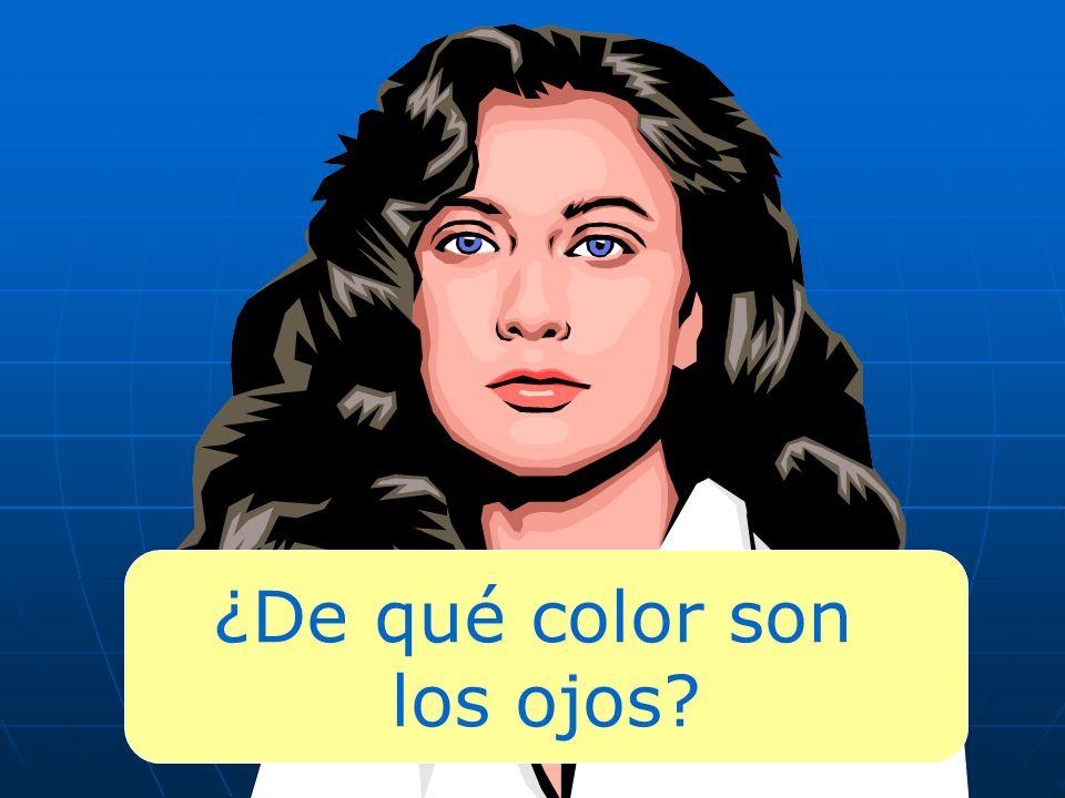 ¿De qué color son los ojos?