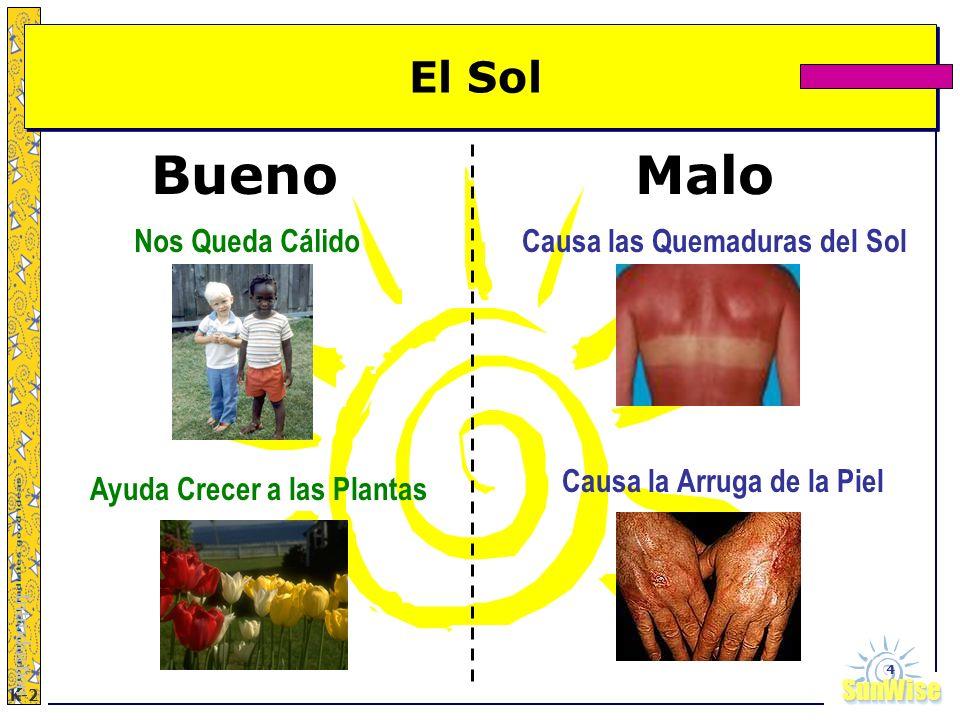 SunWiseSunWise JA K-2 4 El Sol Introduction Nos Queda Cálido Ayuda Crecer a las Plantas Causa las Quemaduras del Sol Causa la Arruga de la Piel BuenoM