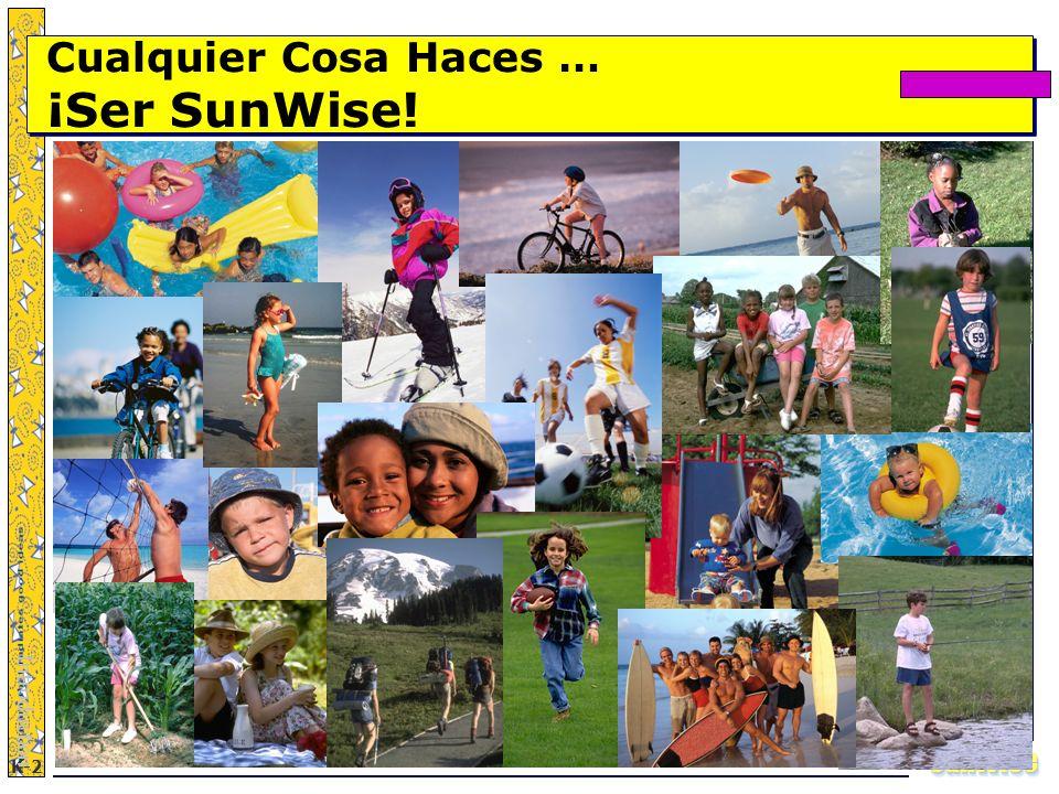SunWiseSunWise JA K-2 42 Cualquier Cosa Haces … ¡Ser SunWise! Introduction