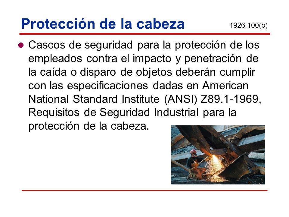 Protección de la cabeza Cascos de seguridad para la protección de los empleados contra el impacto y penetración de la caída o disparo de objetos deber