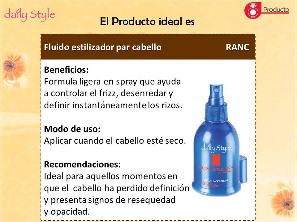 Beneficios: Formula ligera en spray que ayuda a controlar el frizz, desenredar y definir instantáneamente los rizos. Modo de uso: Aplicar cuando el ca