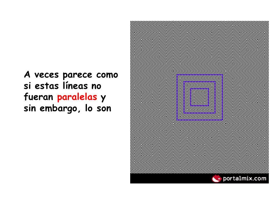 a) Mira fijamente durante 30 segundos los cuatro pequeños puntos que hay en el centro de esta imagen.