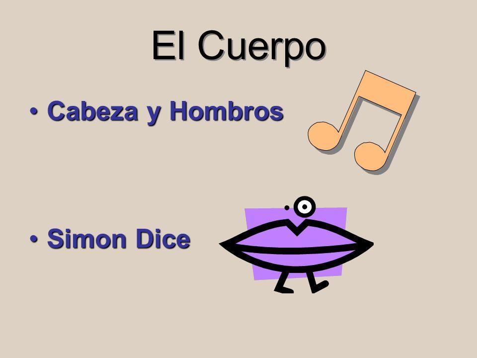 El Cuerpo Cabeza y HombrosCabeza y Hombros Simon DiceSimon Dice