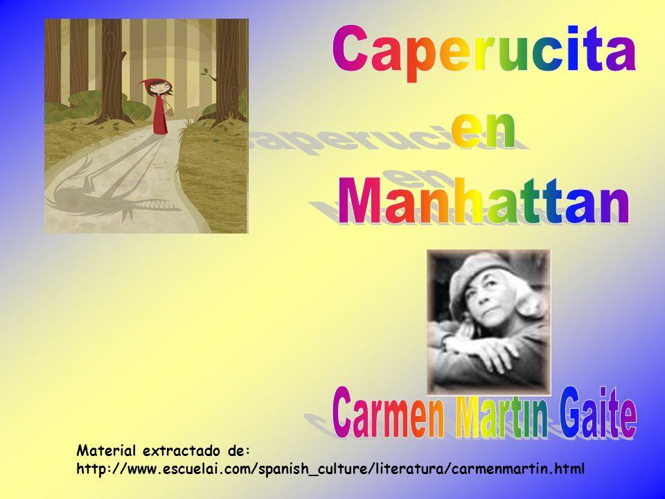 Material extractado de: http://www.escuelai.com/spanish_culture/literatura/carmenmartin.html