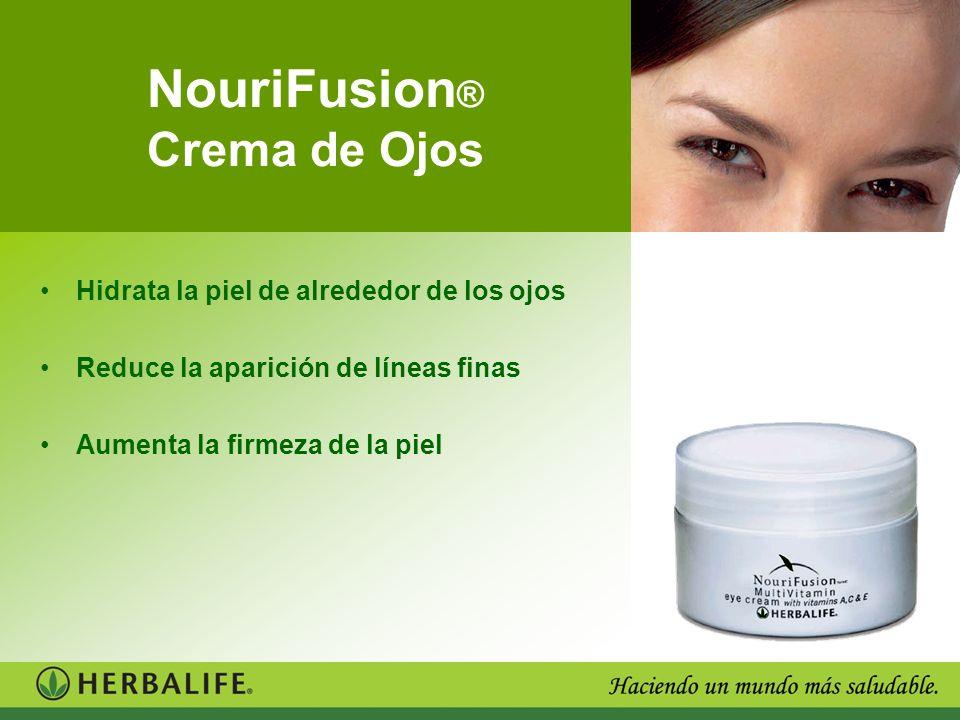NouriFusion ® Crema de Ojos Hidrata la piel de alrededor de los ojos Reduce la aparición de líneas finas Aumenta la firmeza de la piel