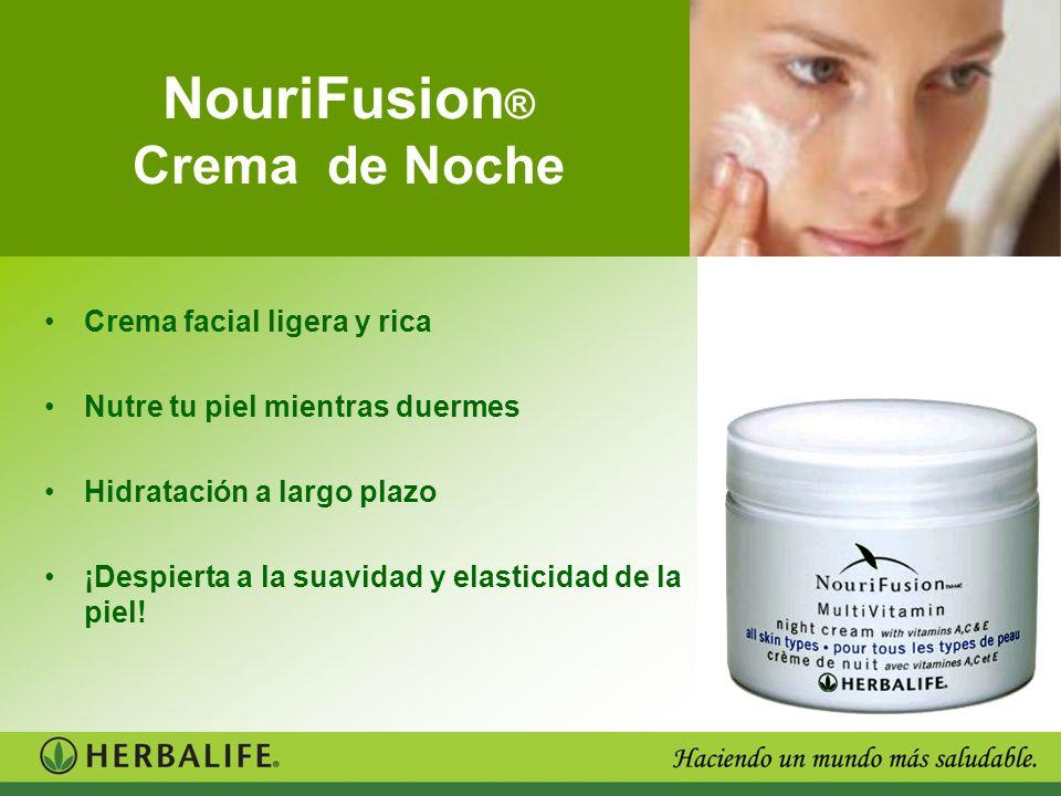 NouriFusion ® Crema de Noche Crema facial ligera y rica Nutre tu piel mientras duermes Hidratación a largo plazo ¡Despierta a la suavidad y elasticida