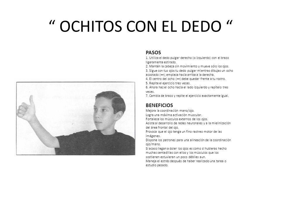 OCHITOS CON EL DEDO PASOS 1.