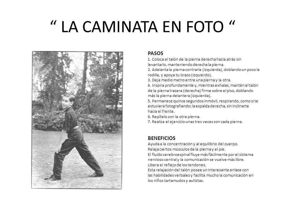 LA CAMINATA EN FOTO PASOS 1.