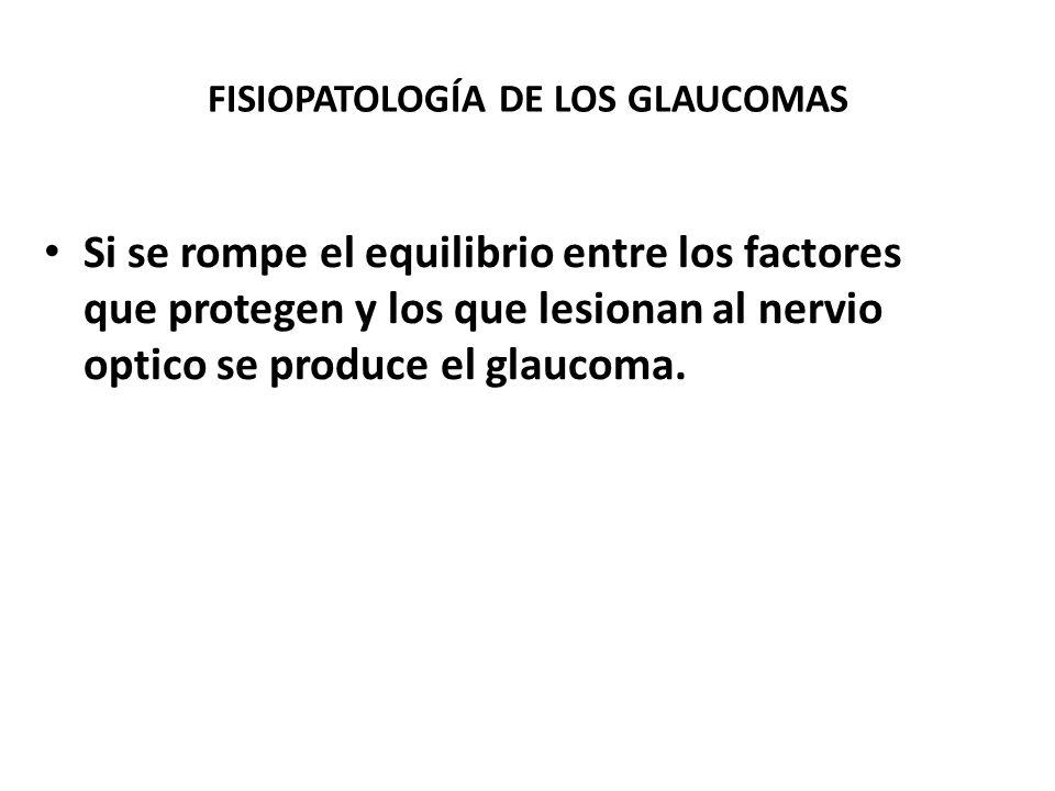 FACTORES RELACIONADOS ANOMALÍAS CONGÉNITAS OCULARES NEUROTROPINAS TRASTORNOS AUTOINMUNES OBSTRUCCIÓN MECÁNICA DEL FLUJO ACUOSO ALTERACIONES METABÓLICA