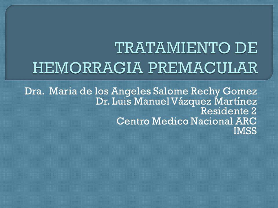 Dra.Maria de los Angeles Salome Rechy Gomez Dr.