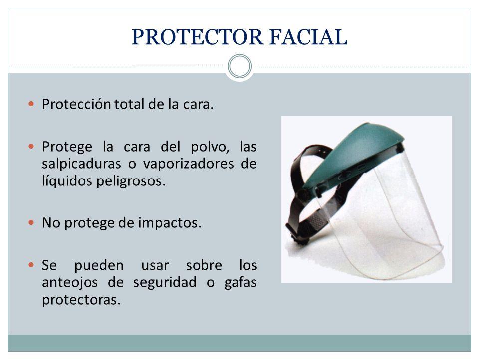 GAFAS PROTECTORAS DE LÁSERES Protege los ojos de la intensa concentración de luz producida por un láser