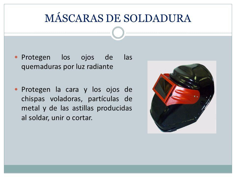 PROTECTOR FACIAL Protección total de la cara. Protege la cara del polvo, las salpicaduras o vaporizadores de líquidos peligrosos. No protege de impact