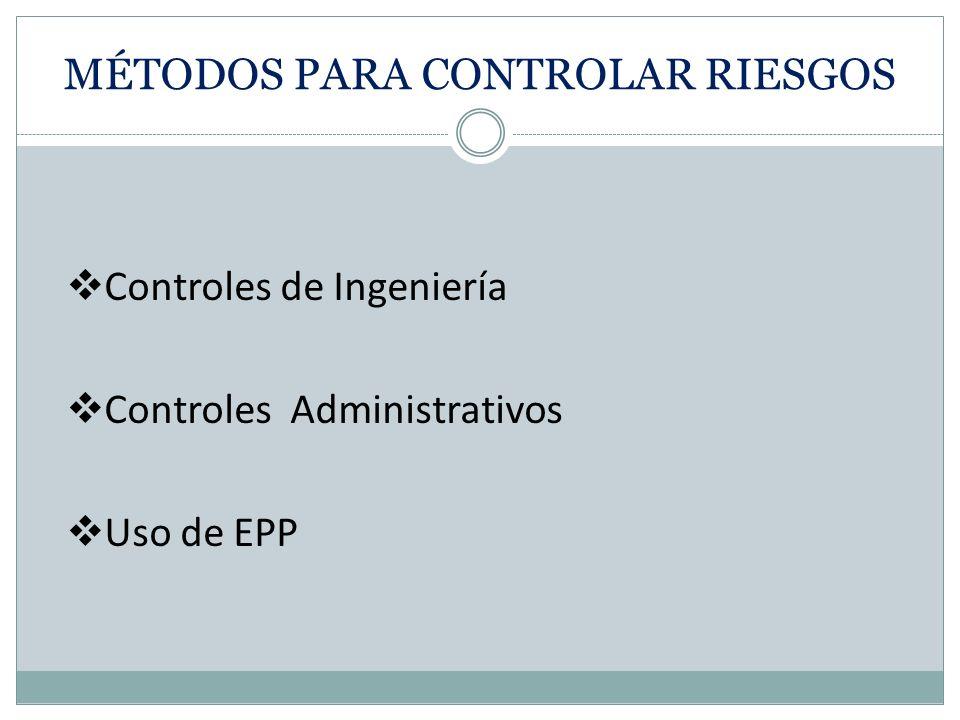 RESPONSABILIDADES Empleador: Evalúa los posibles peligros del lugar de trabajo Provee EPP Determina cuándo debe ser usadp Facilita entrenamiento e ins