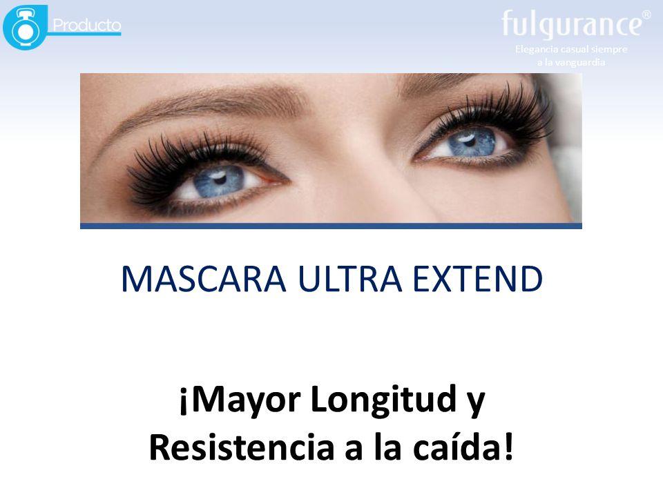 Elegancia casual siempre a la vanguardia MASCARA ULTRA EXTEND ¡Mayor Longitud y Resistencia a la caída!
