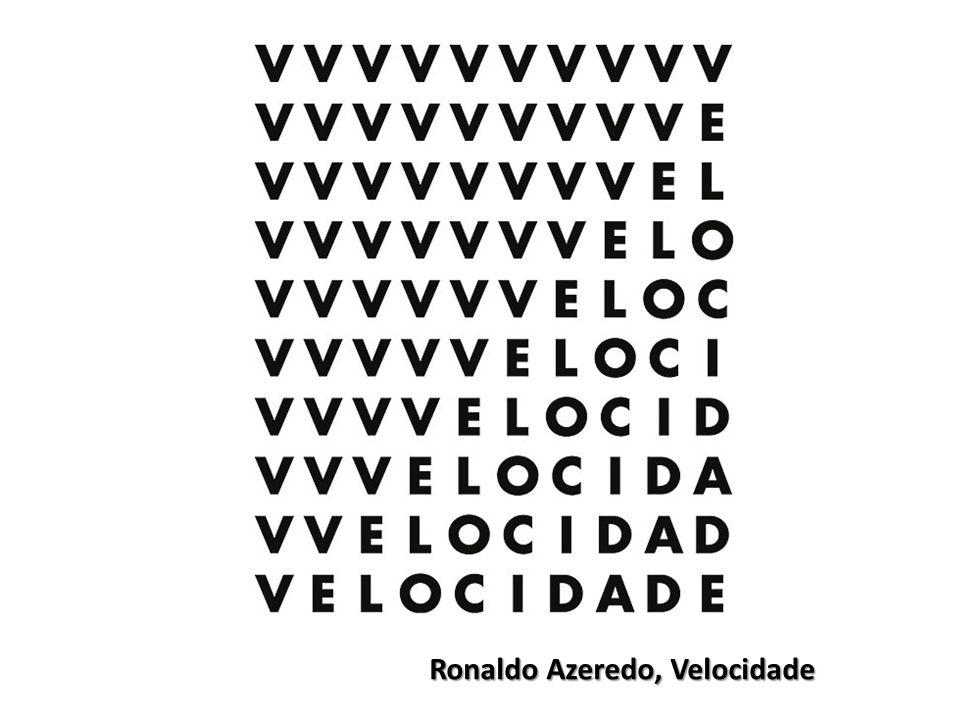 Ronaldo Azeredo, Velocidade