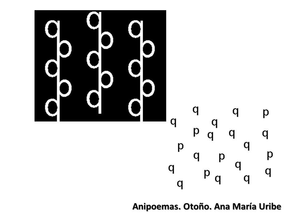 Anipoemas. Otoño. Ana María Uribe