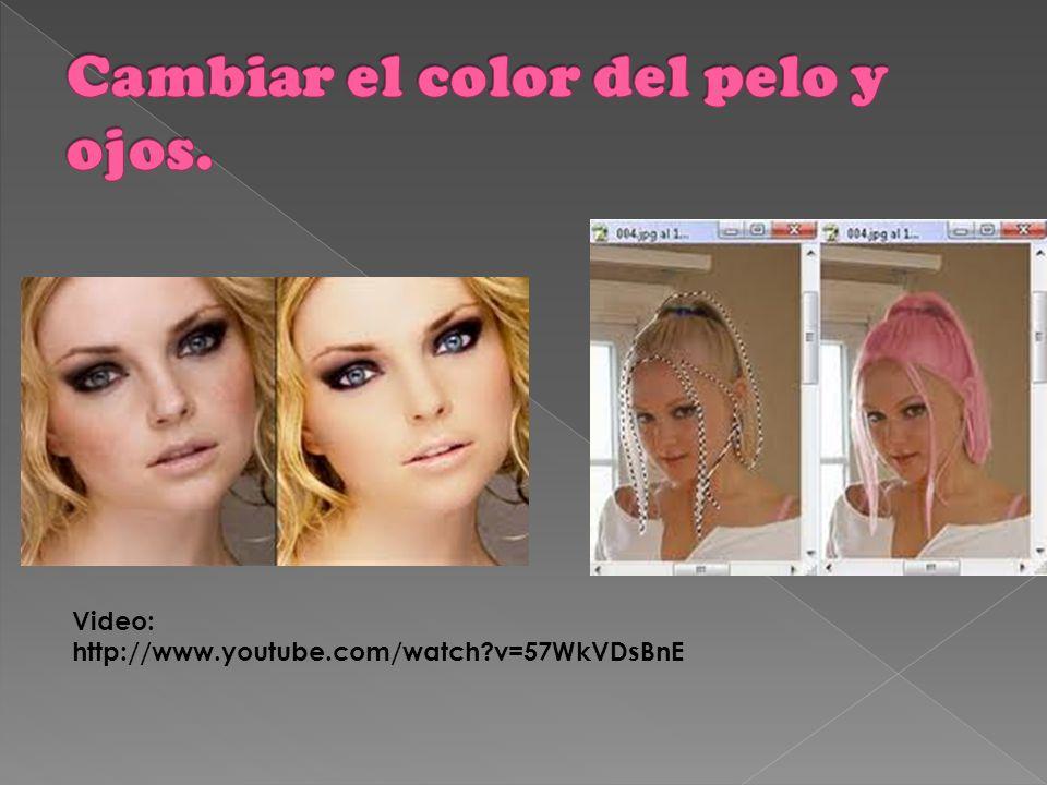 Cambiar color del pelo y de los ojos. Modelar la figura. Aumentar el busto. Quitar arrugas. Hacer desaparecer las imperfecciones. Marcar la musculatur