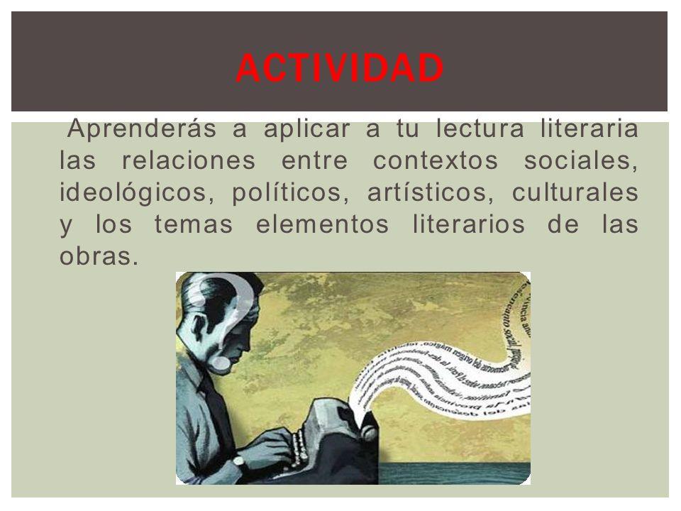 Por su parte, el contexto de recepción es el momento o realidad cultural que rodea la lectura de una obra determinada, independientemente del momento