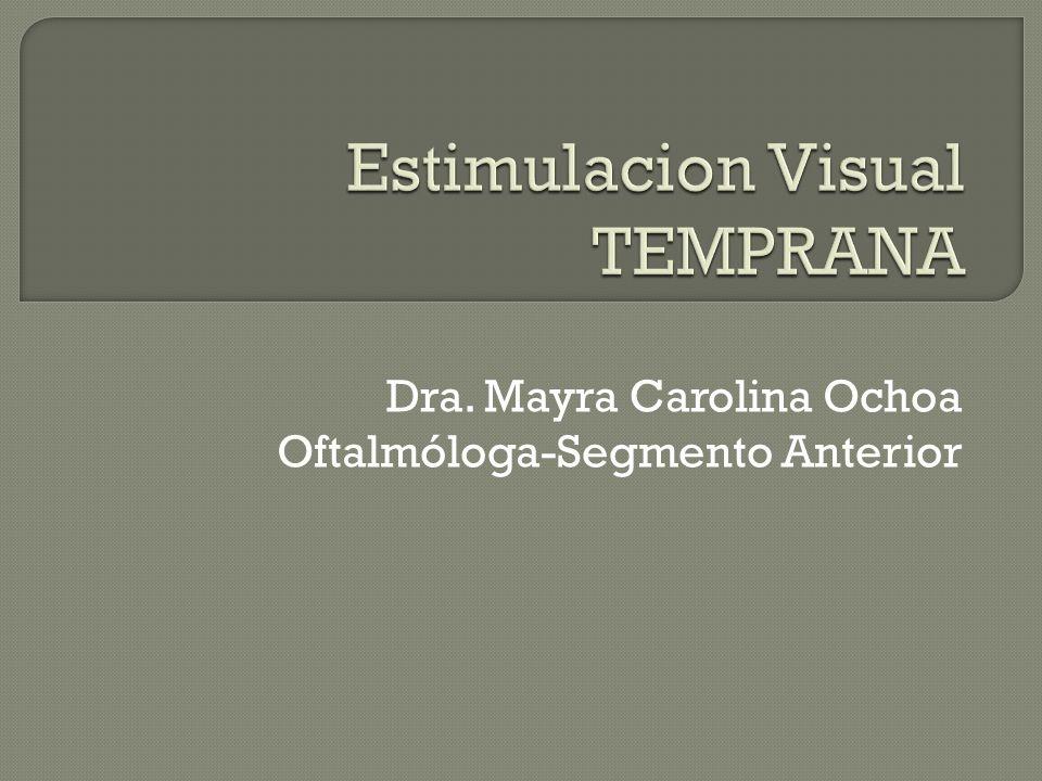 Dra. Mayra Carolina Ochoa Oftalmóloga-Segmento Anterior
