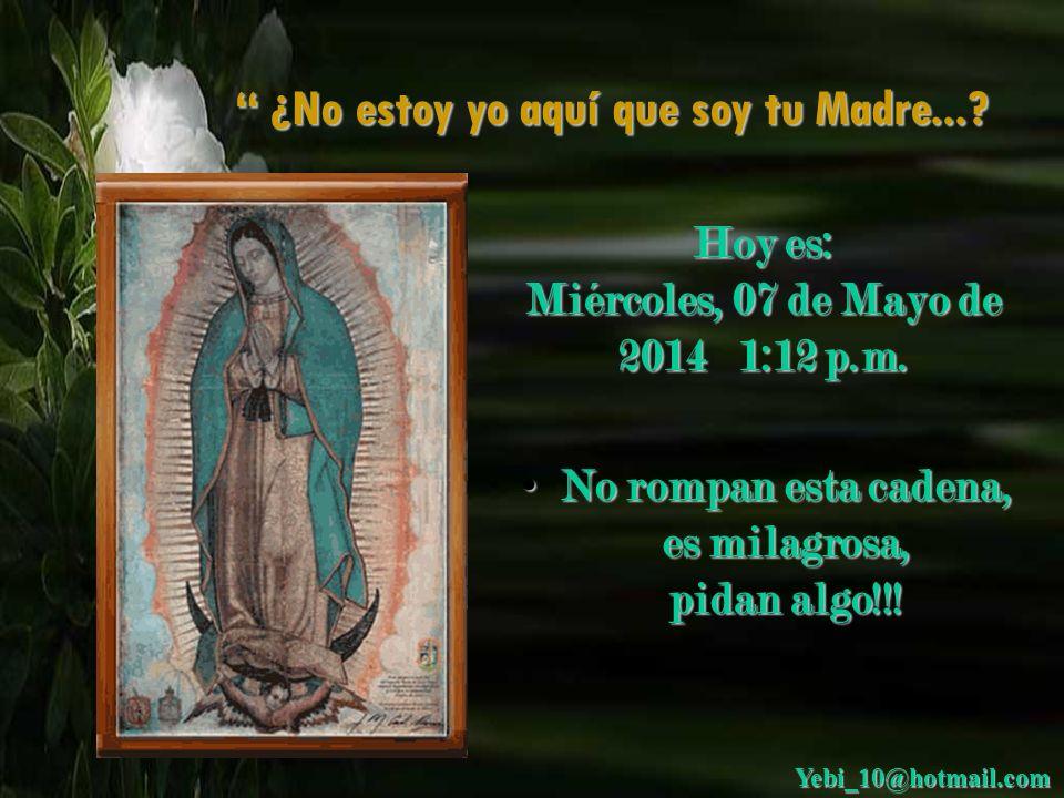 3. La Virgen tiene una cinta en el vientre, está encinta