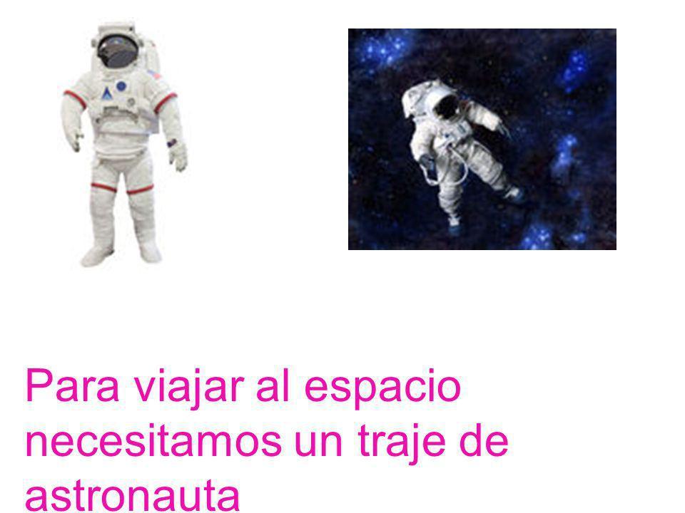 Con los cohetes podemos viajar al espacio para estudiar los planetas