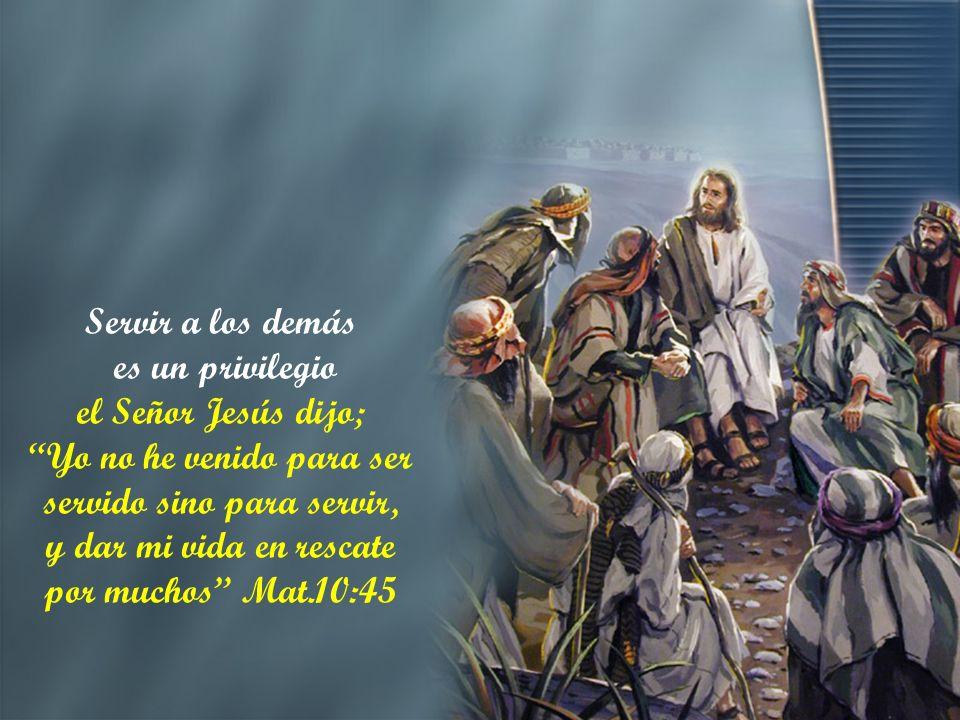 Y su Señor le dijo: bien, buen siervo y fiel; sobre poco has sido fiel sobre mucho te pondré; entra en el gozo de tu Señor Mat.25:21