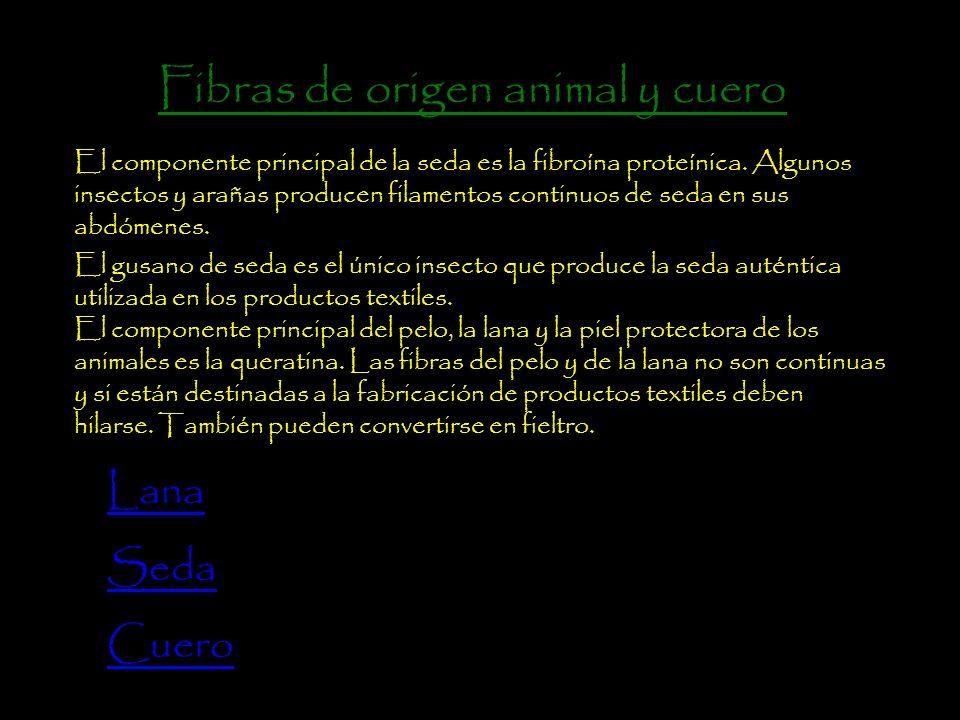 Lana De origen proteico se obtiene a través de animales, en la actualidad es considerada una fibra de lujo junto a la seda.
