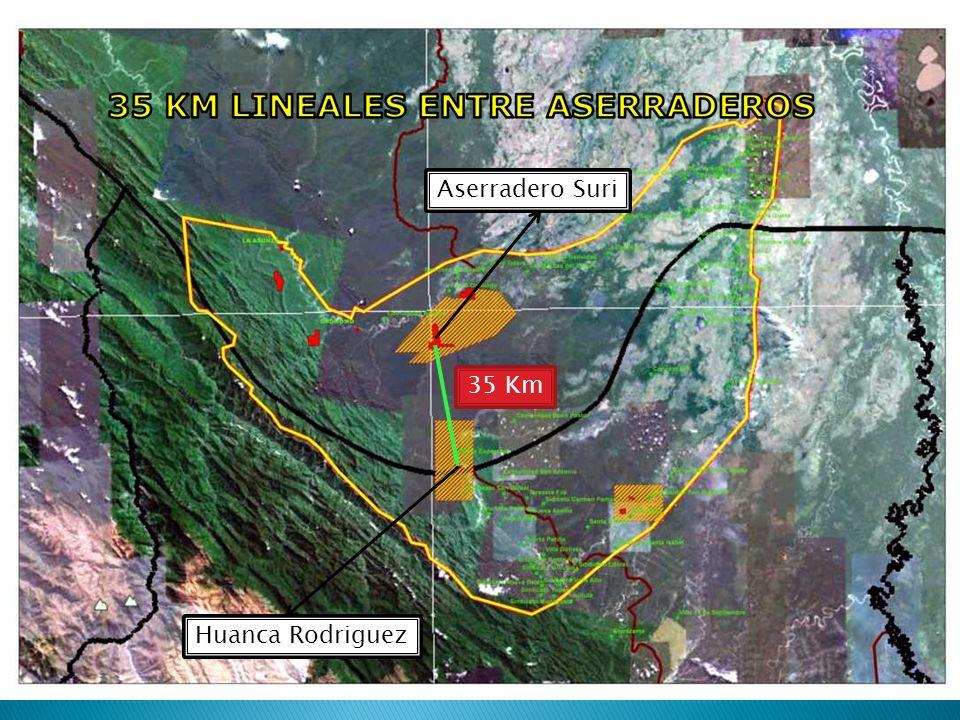 35 Km Aserradero Suri Huanca Rodriguez