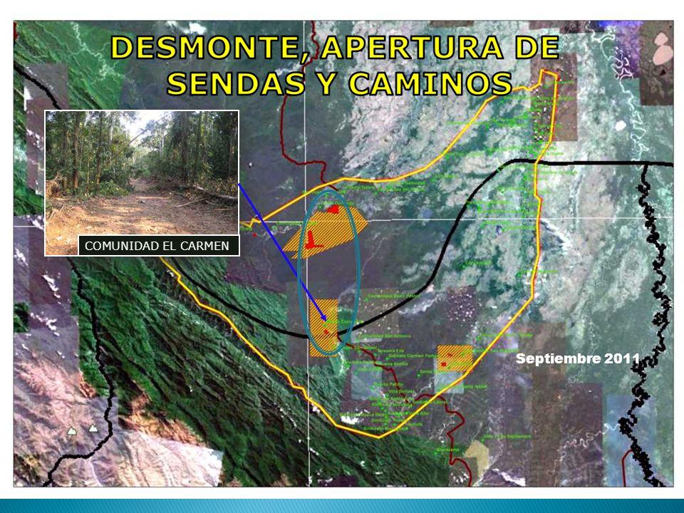 Septiembre 2011 COMUNIDAD EL CARMEN
