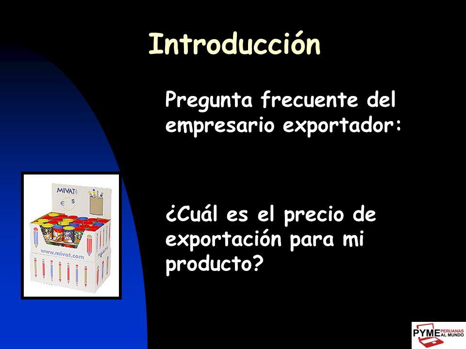 Introducción Para fijar costos y precios debemos considerar método que analice todas las variables Imprescindible: conocer proceso Influencia de factores controlables y no controlables Para definir precios, el elemento subjetivo puede ser útil