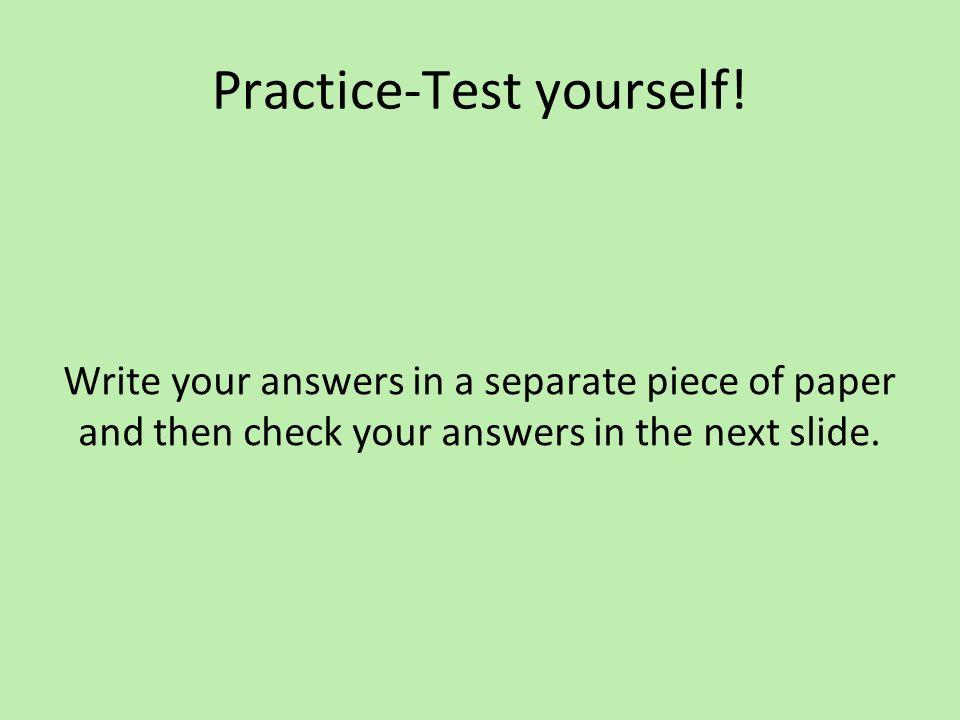Vocabulary Practice 1.El _____ trabaja en la caja.